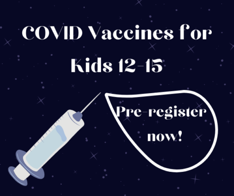 UPDATE: Vaccines for Kids 12-15