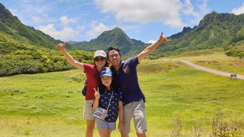 My family went to Hawaii,and the first place we went was the Kualoa Ranch.We rode a tractor and saw plains,mountains and animals.and get this!This is actually the place that the movie Jurassic Park was filmed!