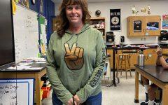 Mrs. Kobren, our new seventh grade science teacher.