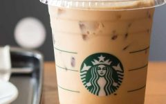 Starbucks' signature espresso meets white chocolate syrup and steamed milk, to create the White Chocolate Mocha.  This sweet chocolatey drink tastes great hot or cold.