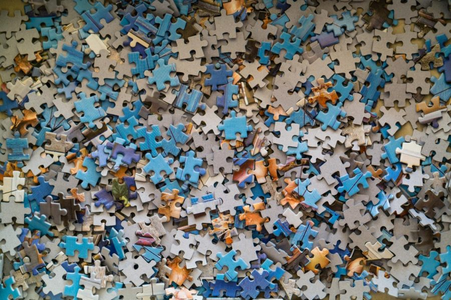 Jigsaw puzzles are difficult but fun. Other kinds of puzzles are popular as well!