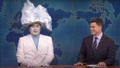 Its not technically a sketch, but this segment from Weekend Update was definitely a highlight of the season. Bowen Yangs snarky iceberg came on Update at a very difficult time of year for him to promote his new album, an electropop new wave Disco Fantasia called Music. But he cant escape questions about that fateful night in 1912.  Yang really gives this sketch his all, and that, combined with some excellent writing is what made it a season favorite of mine.
